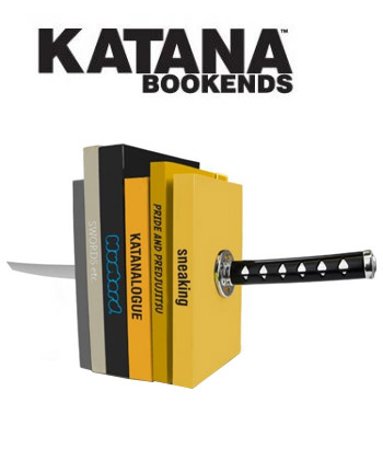 katana-bookends